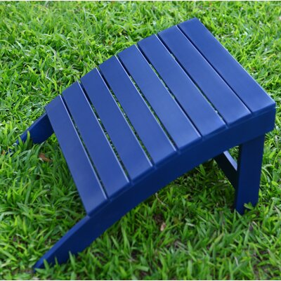 Adirondack Ottoman Finish: Navy Blue