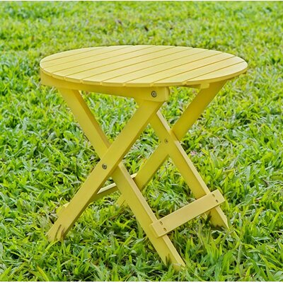 Round Side Table Finish: Yellow