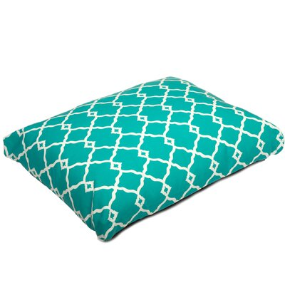 Pet Mat with Removable Cover Size: Small (26 W x 20 D), Color: Mint