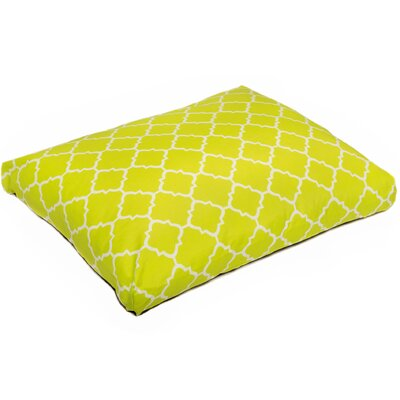 Pet Mat with Removable Cover Size: Small (26 W x 20 D), Color: Lime Green