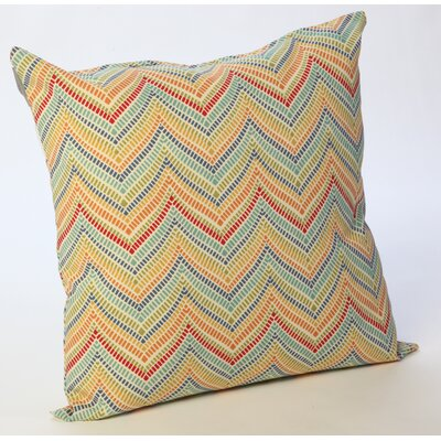 Outdoor Chevron Throw Pillow