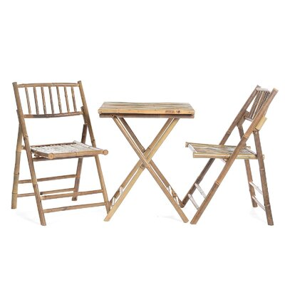 Hermina Bamboo 3 Piece Seating Group