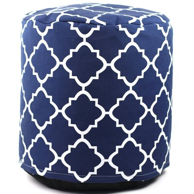 Cribb Round Outdoor Beanbag Ottoman