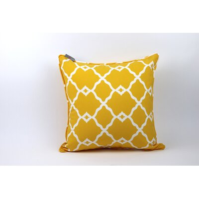 Wilkerson Outdoor Throw Pillow Color: Yellow