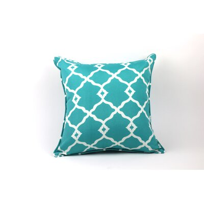 Wilkerson Outdoor Throw Pillow Color: Gray