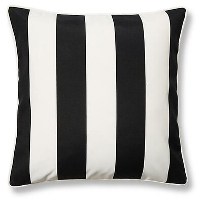 New Bedford Outdoor Throw Pillow Color: Black