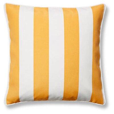 New Bedford Outdoor Throw Pillow Color: Yellow