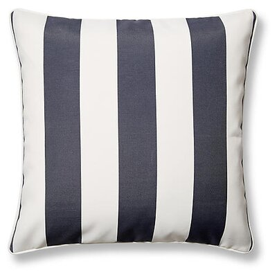 New Bedford Outdoor Throw Pillow Color: Gray