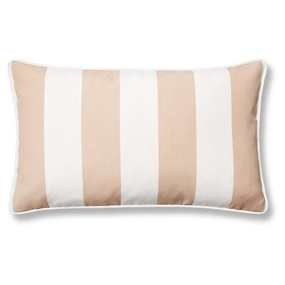 New Bedford Outdoor Lumbar Pillow Color: Beige