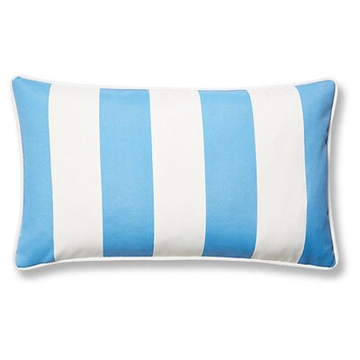 New Bedford Outdoor Lumbar Pillow Color: Blue