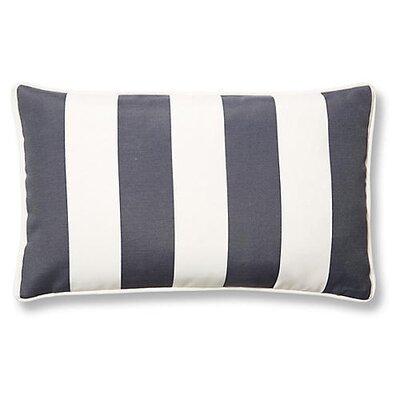 New Bedford Outdoor Lumbar Pillow Color: Gray