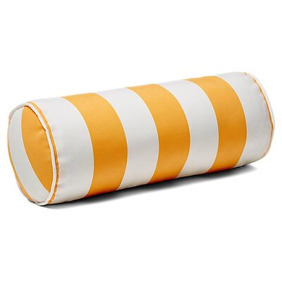 New Bedford Outdoor Bolster Pillow Color: Yellow