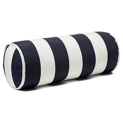 New Bedford Outdoor Bolster Pillow Color: Navy