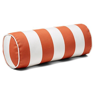 New Bedford Outdoor Bolster Pillow Color: Orange