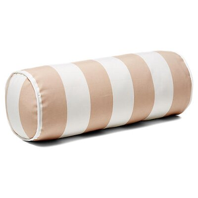 New Bedford Outdoor Bolster Pillow Color: Beige