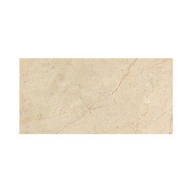 Crema Marfil 6 x 12 Polished Marble Tile