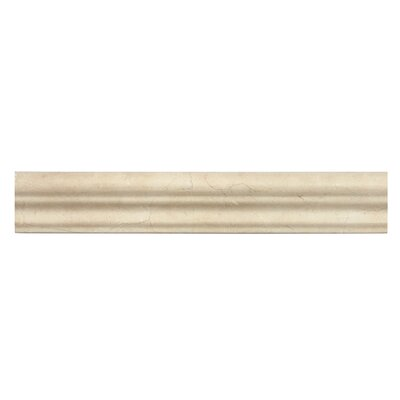 Crema Marfil 2 x 12 Polished Marble Crown Molding