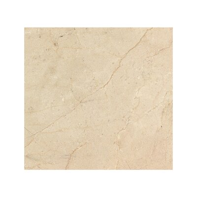 Crema Marfil 6 x 6 Marble Field Tile in Beige