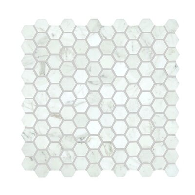 Bianco Carrara 12 x 36 Polished Marble Tile
