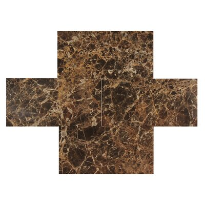 Dark Emperador 3 x 6 Marble Tile Polished