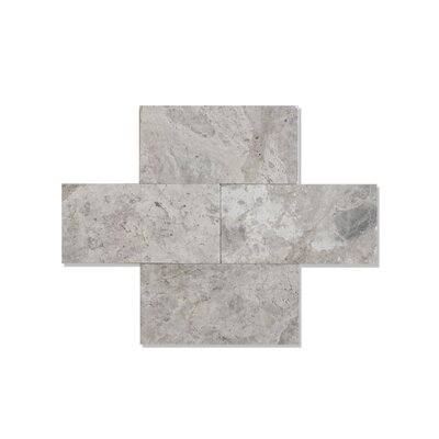 Silver Galaxy 3 x 6 Marble Tile Polished
