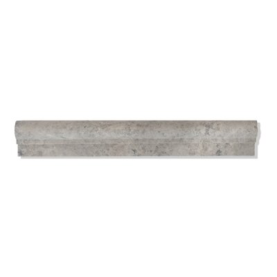 Silver Galaxy 2 x 12 Marble Chair-Rail Molding Polished