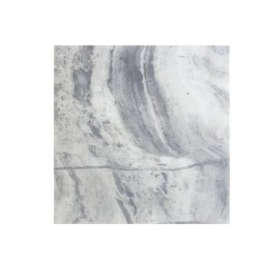 12 x 12 Marble Field Tile in Blue Argentino