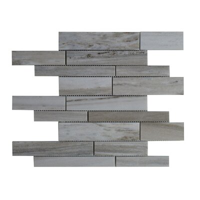 Palissandro Marble Mosaic Tile in Gray