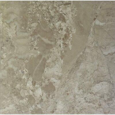 Diana Royal 6 x 6 Marble Field Tile in Beige