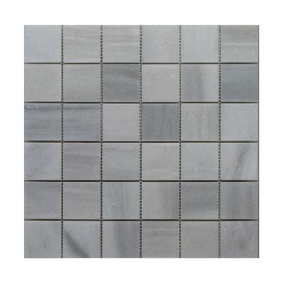 Siberian 2 x 2 Marble Mosaic Tile in Gray