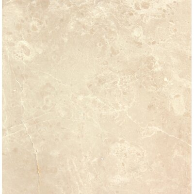 Botticino 6 x 6 Marble Field Tile In Beige