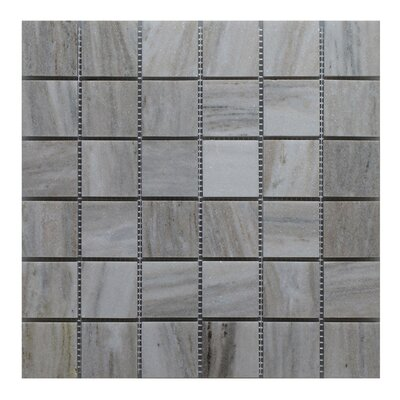Palissandro 2 x 2 Marble Mosaic Tile in Gray