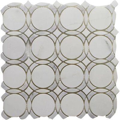 Carrara Infinity Pure Wall 12 x 12 Natural Stone Mosaic Tile in White