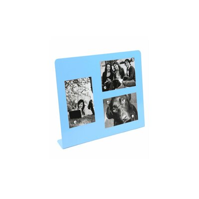 Large Magnet Picture Frame Color: Blue 0706