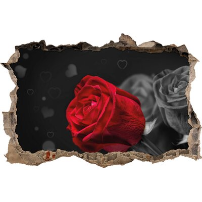 Image of Red Roses for Valentines Day Wall Sticker