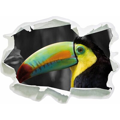 Beautiful Proud Toucan Wall Sticker.