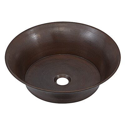 Copernicus Metal Circular Vessel Bathroom Sink