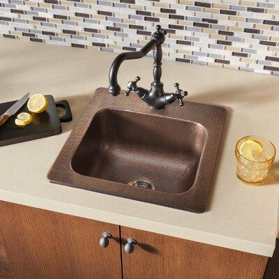 15 x 15 Drop-In 1-Hole Bar Prep Sink