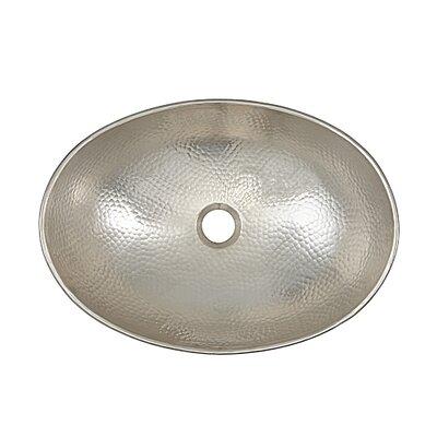 Hobbes Metal Specialty Vessel Bathroom Sink