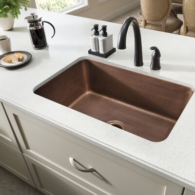 Orwell 30 x 18 Undermount Handmade Single Bowl Kitchen Sink