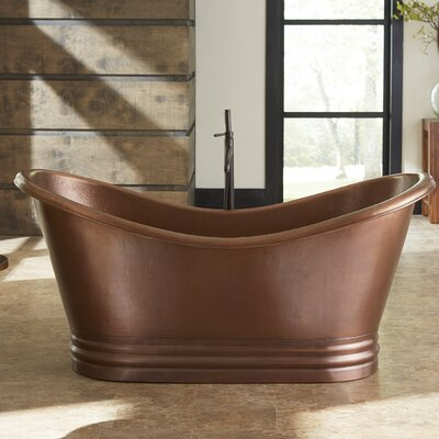 Euclid 71.5 x 33.5 Soaking Bathtub