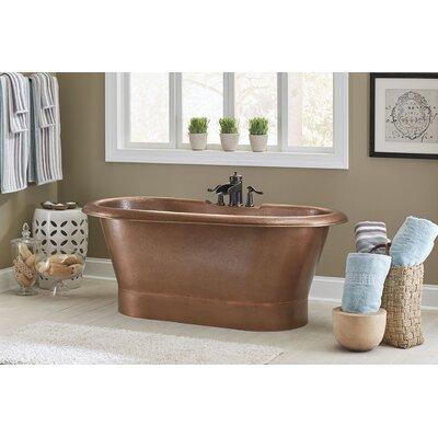 Thales 60 x 29.5 Freestanding Soaking Bathtub