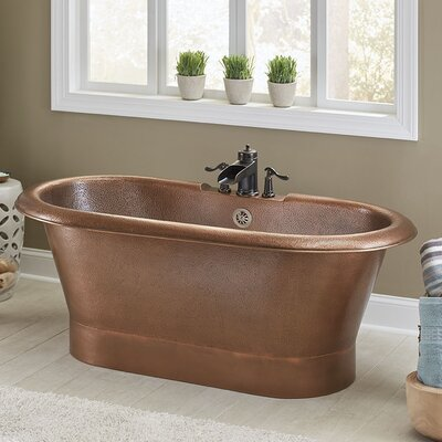 Thales 60 x 29.5 Freestanding Soaking Bathtub