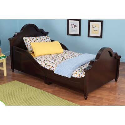 Raleigh Toddler Sleigh Bed Color: Espresso