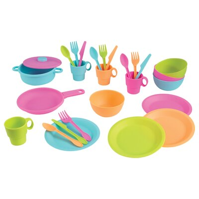 27 Piece Cookware Play Set Color: Bright 63319