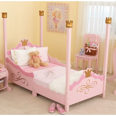 Princess Toddler Four Poster Bed