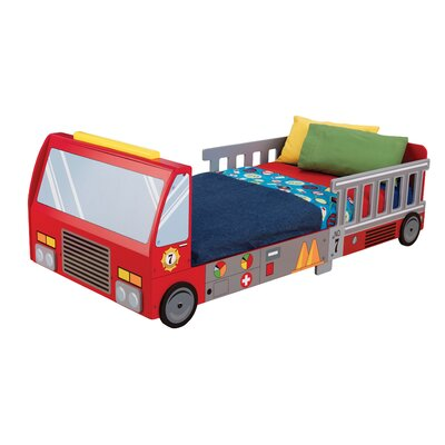 Firefighter Toddler Car Bed