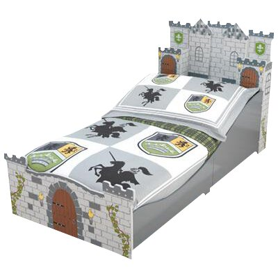 Medieval Castle Toddler Platform Bed