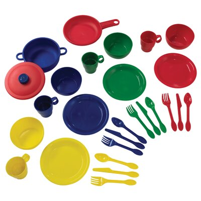 27 Piece Cookware Play Set Color: Primary 63127