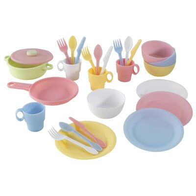 27 Piece Cookware Play Set Color: Pastel 63027